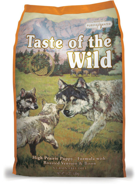hrana pentru catiei juniori Taste of The Wild High Prairie Puppy