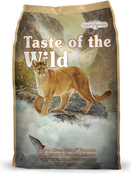 Hrana pisici Taste of the Wild Canyon River Feline mancare pisici