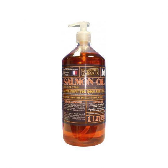 Ulei-de-somon-salbatic-Nutrivet-salmon-oil-pentru-caini-si-pisici-la-catelulgras-1-litru
