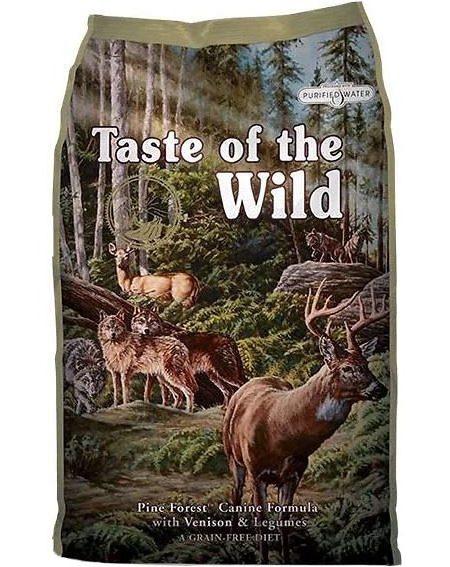 Taste of The Wild Pine Forest -12.2 kg