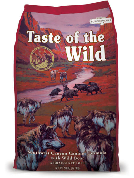 Taste of The Wild South West Canyon - 2 kg