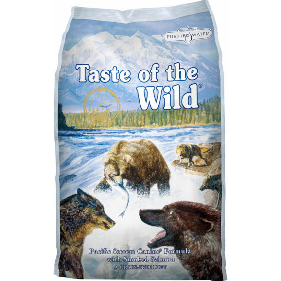 hrana caini taste of the wild pacific stream adult