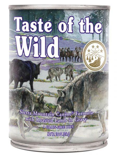 Taste Of The Wild Sierra Mountain – 390 gr